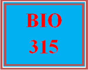 BIO 315 Wk 1 - Application Worksheet | eBooks | Education