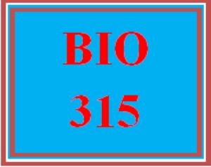 BIO 315 Wk 5 - San Francisco Estuary Ecosystem - Project Assignment Options | eBooks | Education