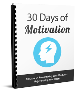 the 30 days of motivation