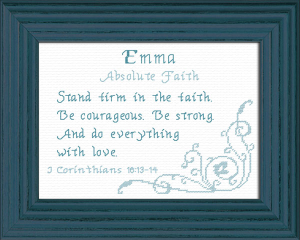 Name Blessings - Emma 5 | Crafting | Cross-Stitch | Other