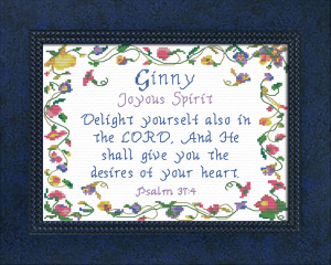 name blessings - ginny