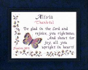Name Blessings - Alivia | Crafting | Cross-Stitch | Other
