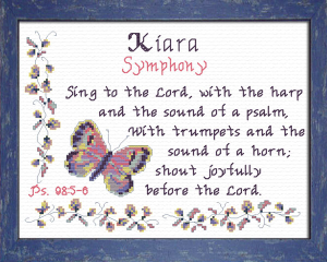 Name Blessings - Kiara | Crafting | Cross-Stitch | Other