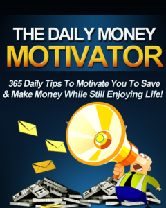 daily money motivator