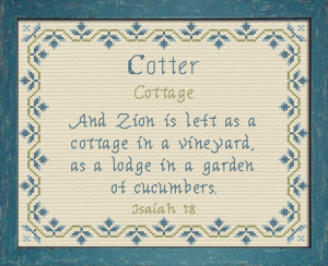 Name Blessings - Cotter | Crafting | Cross-Stitch | Other