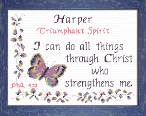 Name Blessings - Harper | Crafting | Cross-Stitch | Other