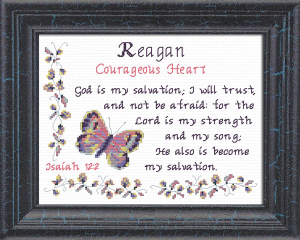 Name Blessings - Reagan 2 | Crafting | Cross-Stitch | Other