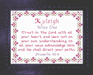 Name Blessings - Kyleigh | Crafting | Cross-Stitch | Other