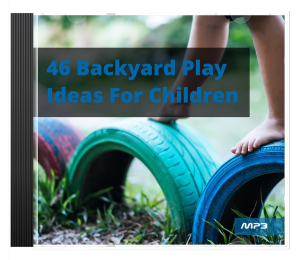 46 backyard play ideas for children audio book plus ebook