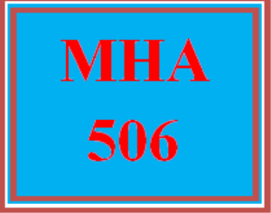 MHA 506 Wk 5 Team Assignment: Control and Exhibits   eBooks   Education