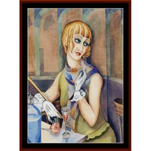 Lili Elbe - Gerda Wegener cross stitch pattern by Cross Stitch Collectibles | Crafting | Cross-Stitch | Other