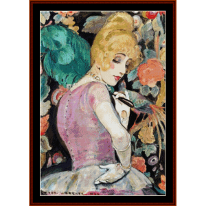 Lili II - Gerda Wegener cross stitch pattern by Cross Stitch Collectibles | Crafting | Cross-Stitch | Other
