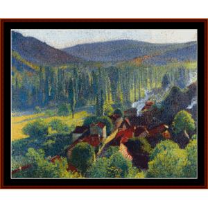 Labastide - Henri Martin cross stitch pattern by Cross Stitch Collectibles | Crafting | Cross-Stitch | Other