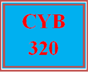 CYB 320 All Discussions | eBooks | Education