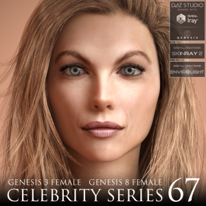Celebrity Series 67 for Genesis 3 and Genesis 8 Female | Software | Design
