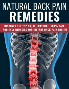 Natural Back Pain Remedies | eBooks | Medical