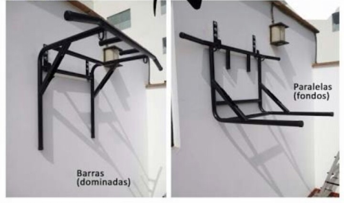Second Additional product image for - Barra dominadas gym paralelas