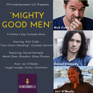 mighty good men comedy special