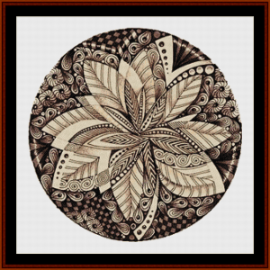 Mandala 52 cross stitch pattern by Cross Stitch Collectibles | Crafting | Cross-Stitch | Other