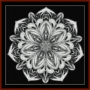Mandala 53 cross stitch pattern by Cross Stitch Collectibles | Crafting | Cross-Stitch | Other