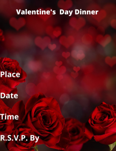 Valentines Date Card | Documents and Forms | Other Forms
