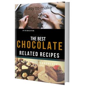 the best chocolate-related recipes e-book pdf plr