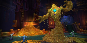 6000 online game gold in world of warcraft - battle for azeroth