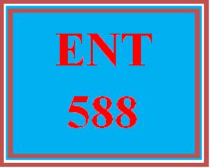 ent 588 wk 3 - elevator pitch