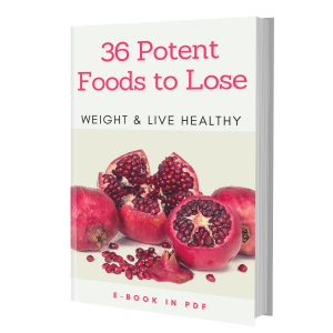 36 potent foods to lose weight & live healthy e-book pdf plr mrr