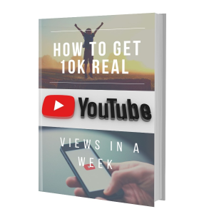 how to get 10k real youtube views in a week e-book pdf plr