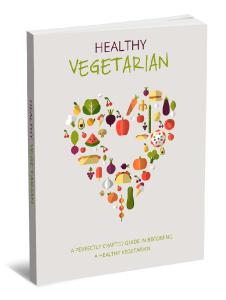 healthy vegetarian e-book pdf plr