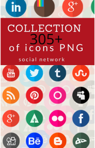 305+ collection of social media icons png small, medium, large, very large