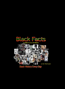 black facts for black lives that matter everyday