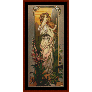 Flowers of Mountains – Elisabeth Sonrel cross stitch pattern by Cross Stitch Collectibles | Crafting | Cross-Stitch | Other