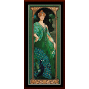 The Majestic Peacock – Elisabeth Sonrel cross stitch pattern by Cross Stitch Collectibles | Crafting | Cross-Stitch | Other