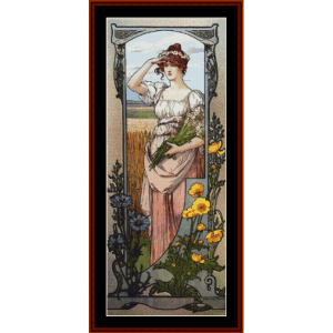 Wildflowers – Elisabeth Sonrel cross stitch pattern by Cross Stitch Collectibles | Crafting | Cross-Stitch | Other