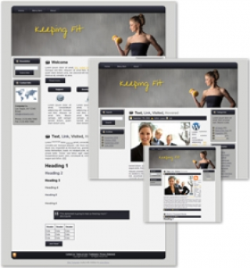 Keeping Fit Themed Wordpress, Blogger and HTML Templates 2 | Other Files | Patterns and Templates
