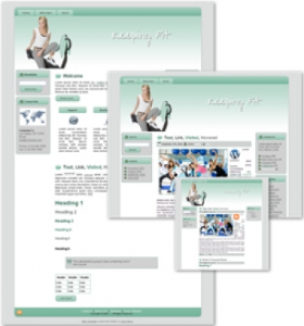 Keeping Fit Themed Wordpress, Blogger and HTML Templates 3 | Other Files | Patterns and Templates