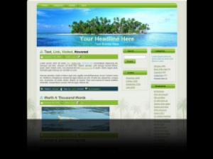 Palm Tree Island WP Theme | Other Files | Patterns and Templates