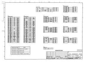 fanuc a16b-2201-0101 to 0103 fs0d 32bit mem board (full schematic circuit diagram)