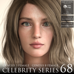 Celebrity Series 68 for Genesis 3 and Genesis 8 Female | Software | Design