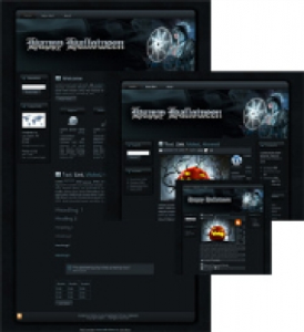 halloween sorceress wp theme
