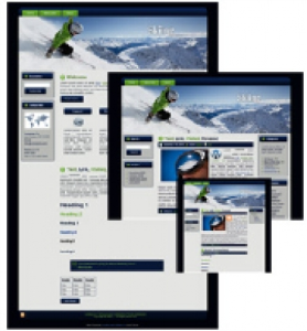skiing - wp theme