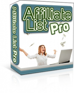 Affiliate List Pro | Software | Other