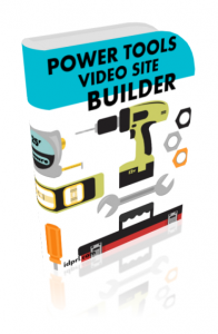 power tools video site builder
