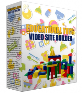 Educational Toys Video Site Builder | Software | Other