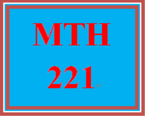 First Additional product image for - MTH 221 Wk 1 - Ch. 2 Homework