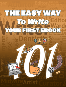 the easy way to write your first ebooks