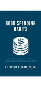 good spending habits