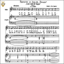 Lascia ch'io pianga, Medium Voice in E-Flat Major, G. F. Haendel. Caecilia, Ed. André. Tablet Sheet Music (A5 Landscape) | eBooks | Sheet Music